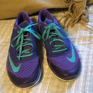Nike purple teal fitsole